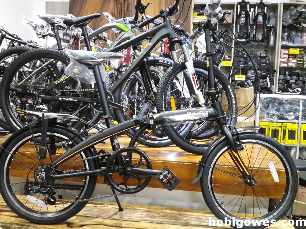 Sepeda Polygon Lipat