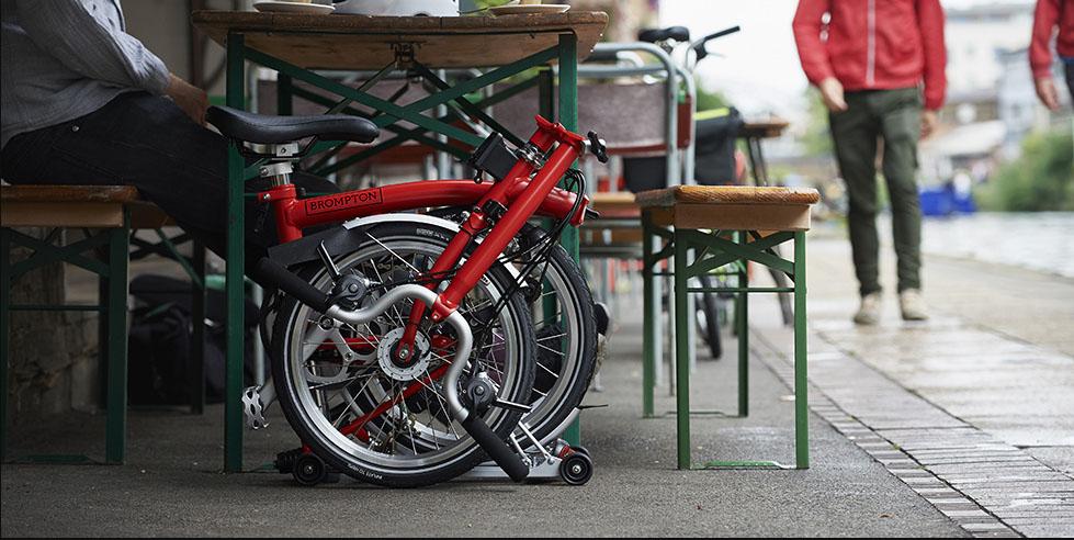 folding bike brompton