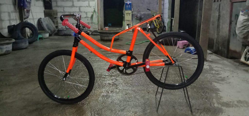 Gambar Modifikasi Sepeda Ontel Drag Mengenal Aliran Modifikasi Sepeda Drag Hobigowes