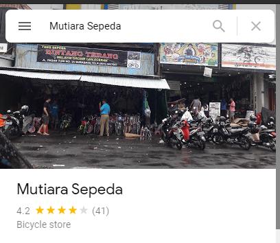 Review Toko Sepeda Mutiara Surabaya