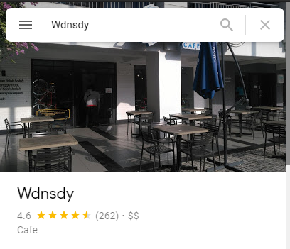 Review Wdnsdy Cafe Surabaya