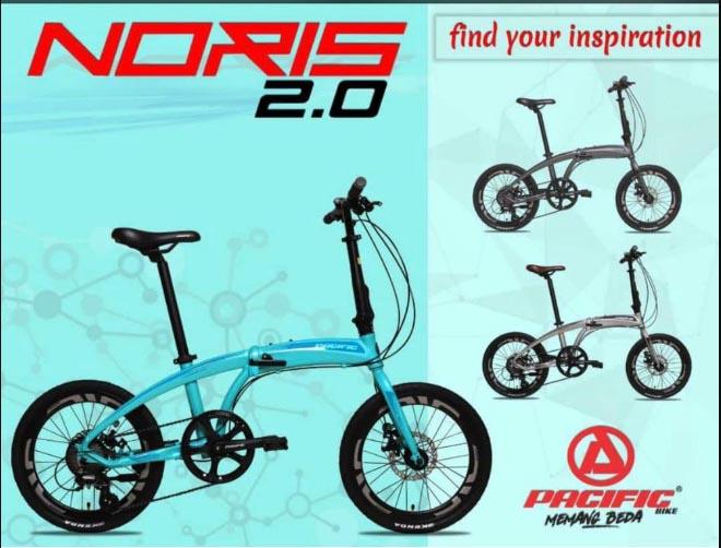 Update Harga Sepeda Lipat Pacific Noris 2 0 Saat Ini Hobigowes