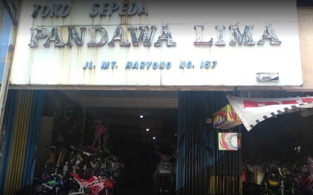 Toko Sepeda Pandawa Lima